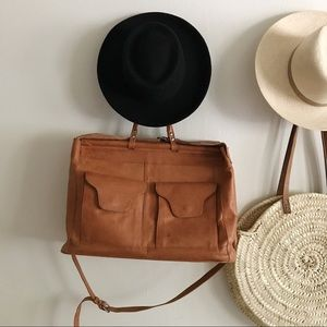 Accessories - Brandless Broad Upturned Brim Hat
